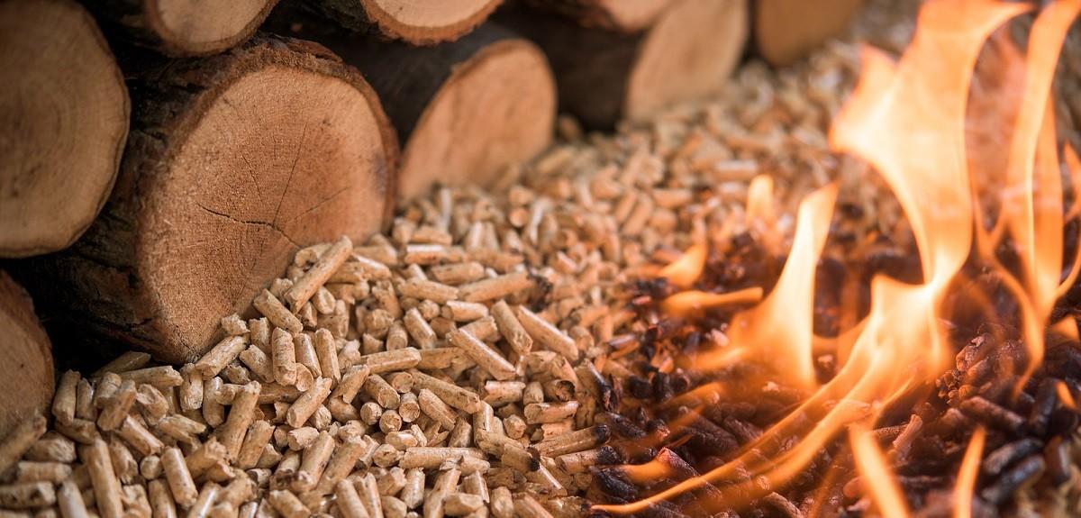 Wood-pellets-fire