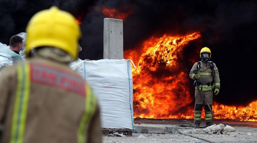 fire_in_waste_plant_detection